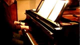 "Jonny, wenn du Geburtstag hast - Amateur Piano Cover with ""swingy touch"""