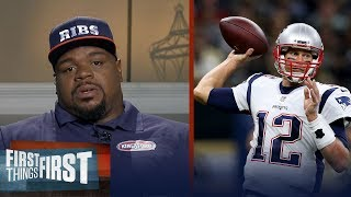 Vince Wilfork on how long Tom Brady will play, Belichick's coaching and more | FIRST THINGS FIRST