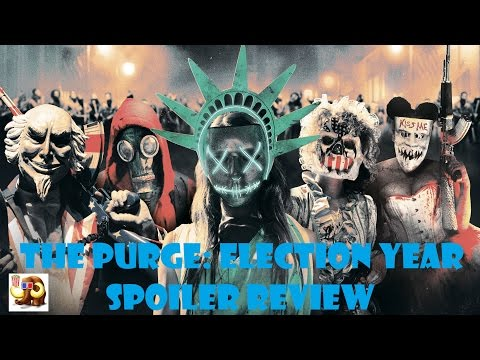 The Purge: Election Year Spoiler Review
