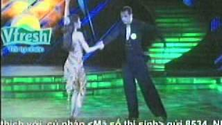Bước nhảy hoàn vũ 2011 - Thủy Tiên (Rumba, Quick step)