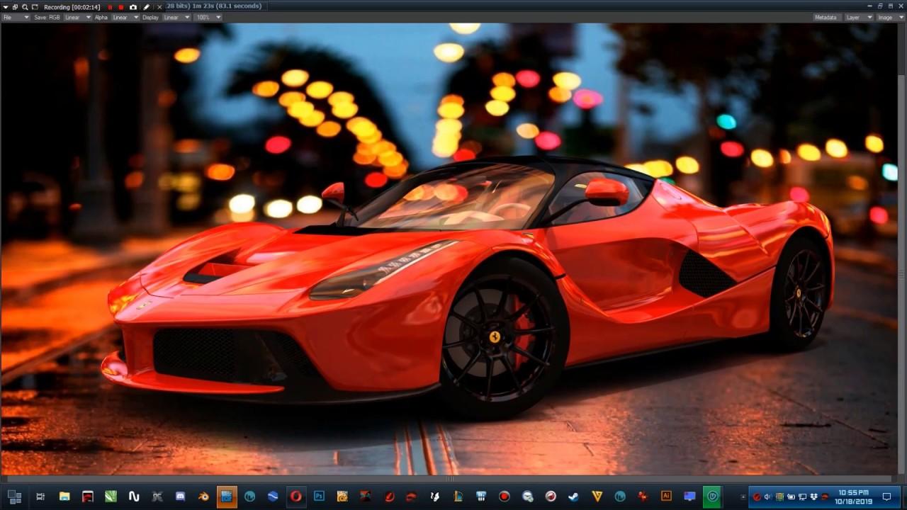 Lightwave 3D LaFerrari 1920X1080 HD