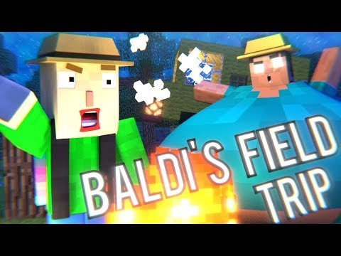 BALDI'S BASICS FIELD TRIP - Minecraft Animation