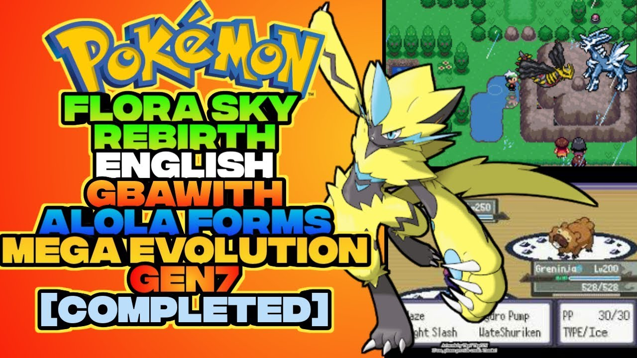 Pokemon naranja rom english