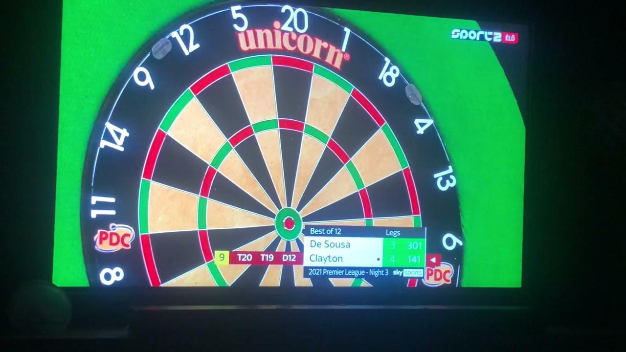 Download Jonny Clayton 9 darter finish . 2021 Premier League