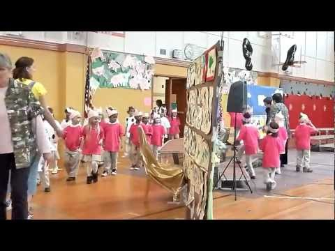 Oak Harbor Elementary School 'Night of the Arts' Musical 2012