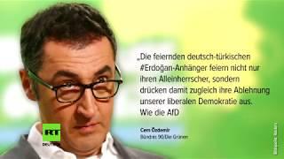 Straßenumfrage von RT zu Özdemirs Kritik an Erdogan-Anhängern in Deutschland
