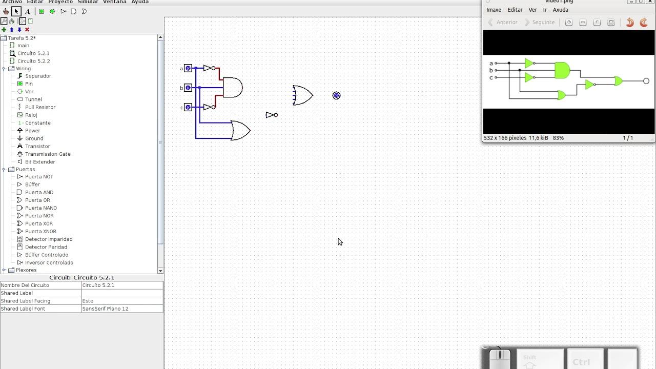 Circuito Xnor : Deseñar e simular un circuíto dixital youtube