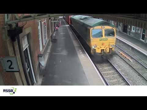 CCTV clip - a platform safety incident at Nuneaton (Default Publish)