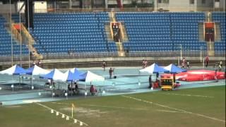 101年全國大專院校田徑公開賽男甲4x100公尺接力決賽