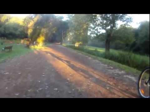 Salita verso Villa Pamphili  ripresa con GO Pro HD