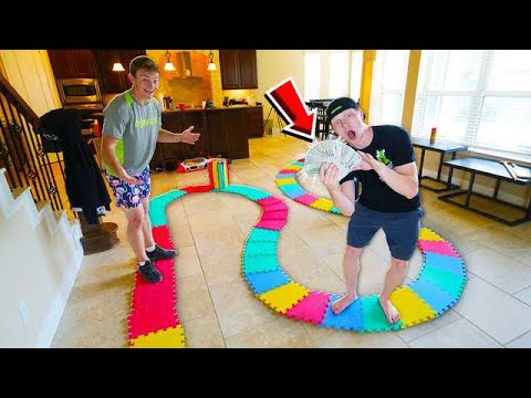 WORLDS BIGGEST GAMEBOARD! LOSER PAYS $10,000!