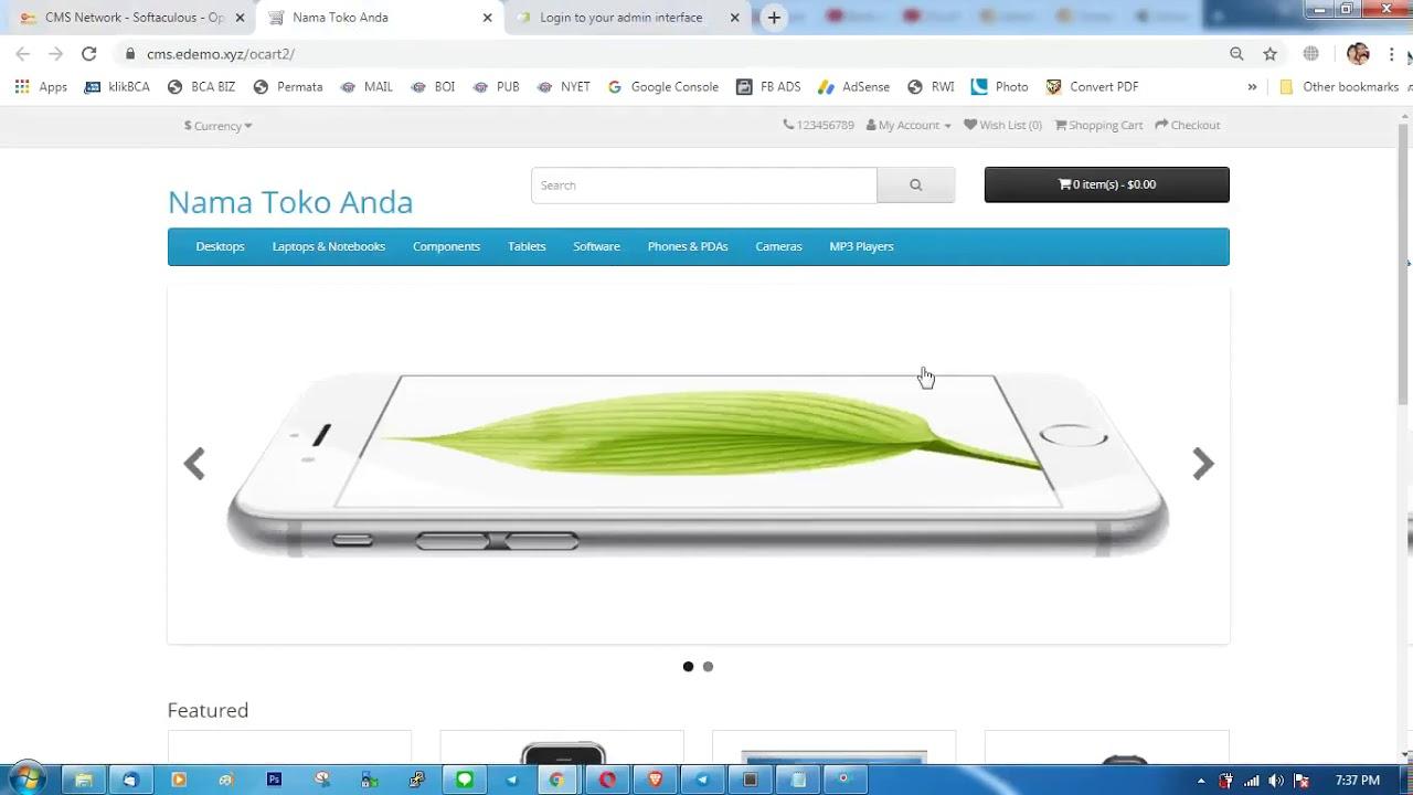 Membuat Toko Online PLUS Aplikasi Android HANYA 5 MIN