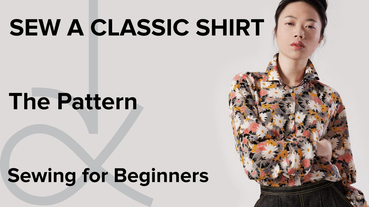 How to sew a shirt sewing for beginners part 1 youtube jeuxipadfo Gallery