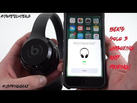 How to connect my beats wireless headphones