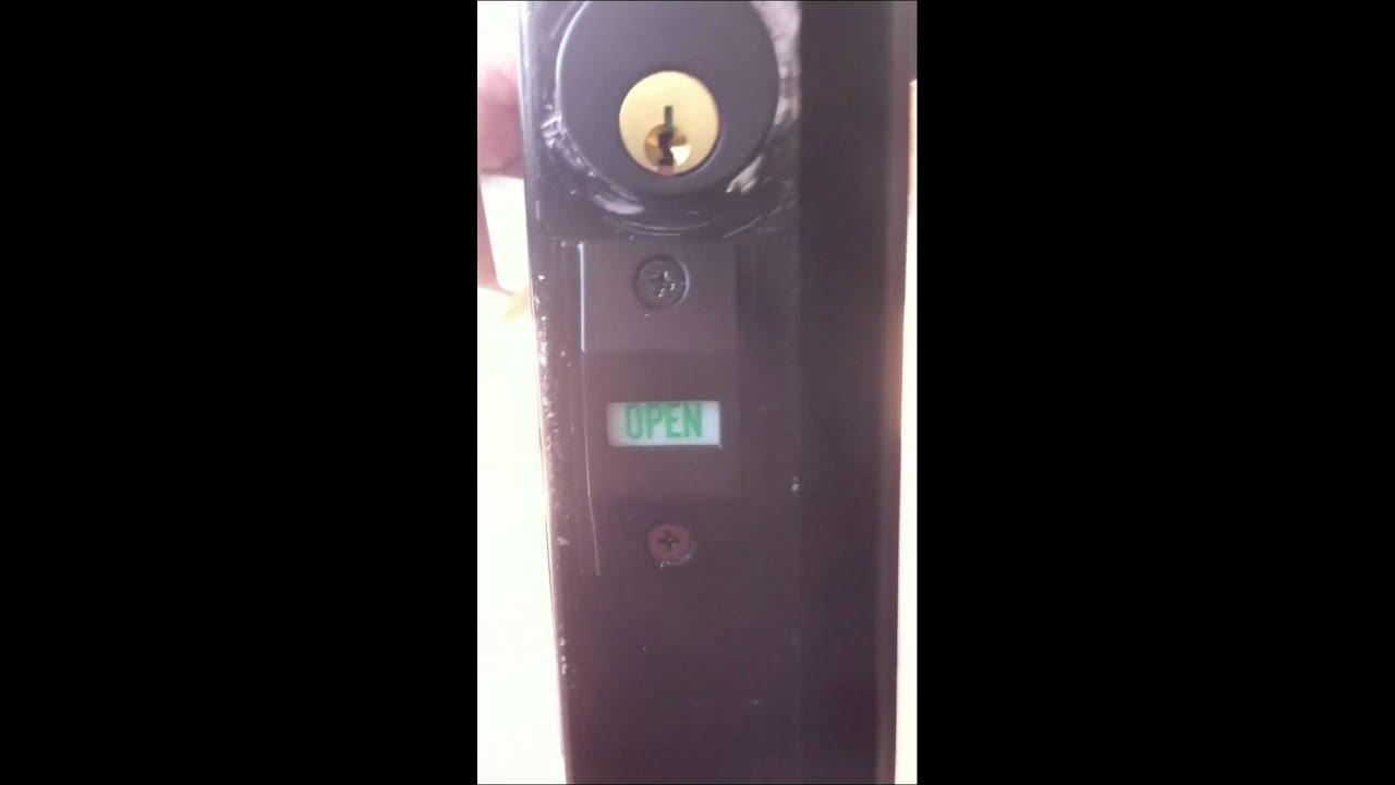 Door Lock Indicator 2 Youtube