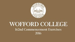 Wofford 162nd Commencement