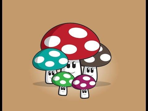 Tutorial Create Character Fungus With Adobe illustrator thumbnail