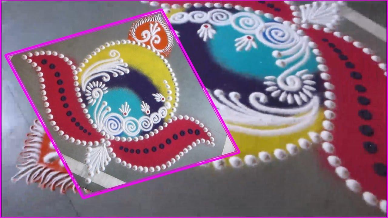 Sanskar Bharati Rangoli - YouTube for Sanskar Bharati Rangoli Designs Blog  104xkb
