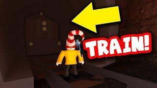 TRAIN UPDATE EASTER EGG!!! (Roblox Jailbreak)