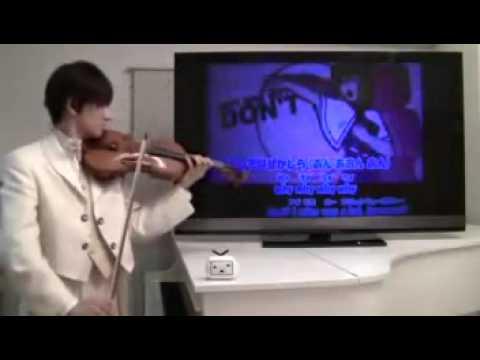 魔理沙は大変なものを盗んでいきましたをバイオリンで演奏してみた