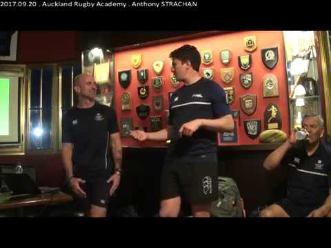 "2017.09.20 . Auckland Rugby Academy - Anthony ""Strawny"" STRACHAN"