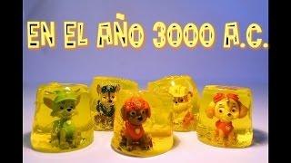 PATRULLA CANINA ATRAPADOS EN GELATINA! PAW PATROL toys pups PATRULLA DE CACHORROS