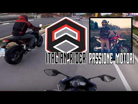 Passione Motori ci Blocca, Italian Rider ci fa i Complimenti - (DualMotovlog)