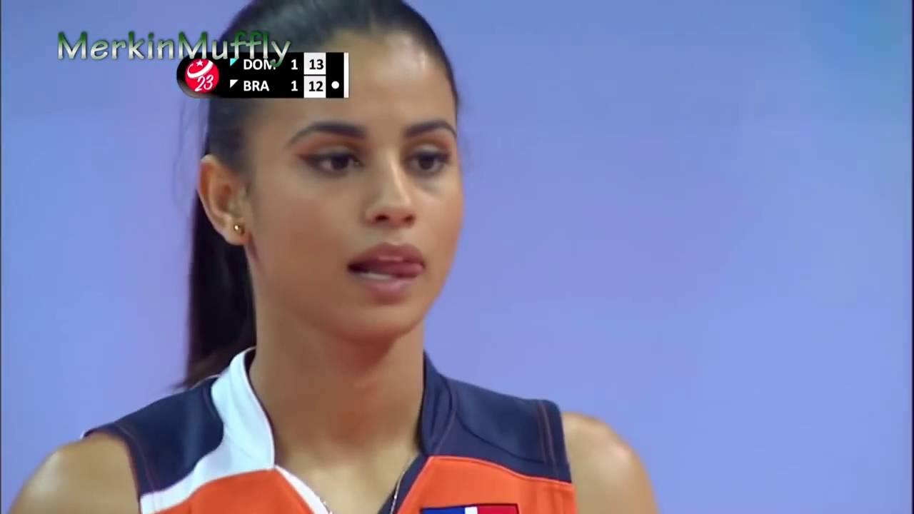 winifer fernandez volleyball miss   youtube