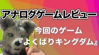 【アナログゲームレビュー】王国を立てるため、相手の手を読みコンボを繋げ!【よくばりキングダム!】