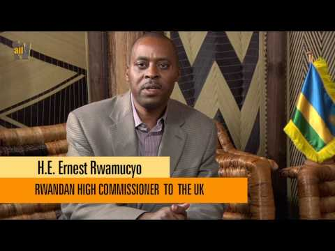 H E ERNEST RWAMUCYO  RWANDAN HIGH COMMISIONER TO THE UK