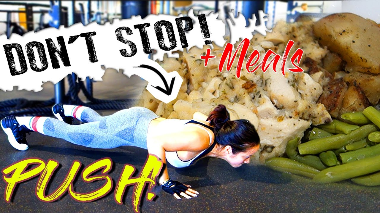 How to Push Through a Tough Workout