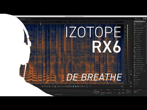 iZotope RX6 - Using De-breathe