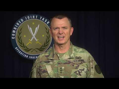 LTG Paul Funk Raqqa Liberation statement
