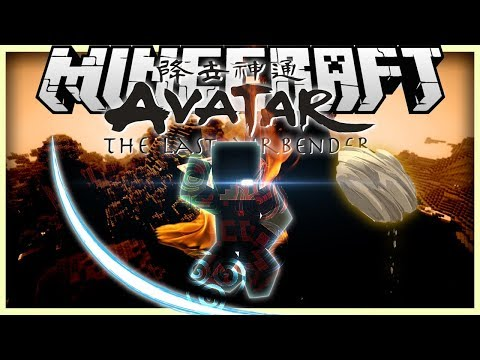 Minecraft: Mod Showcase - Avatar Mod [CHANNEL THE FOUR ELEMENTS OF NATURE]