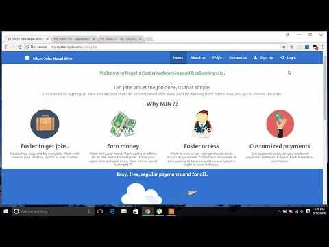 How to earn money online in Nepal