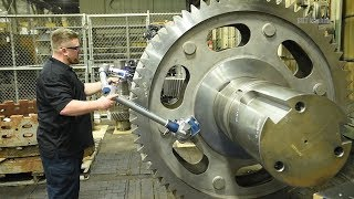 This CNC Lathe Factory Makes you Unable to Stop Watching - Lace Lathes Operate in Large Factories