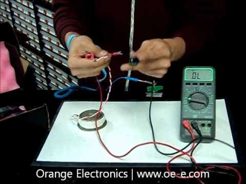 how to test scr aa1250crh220 by orange electronics youtube