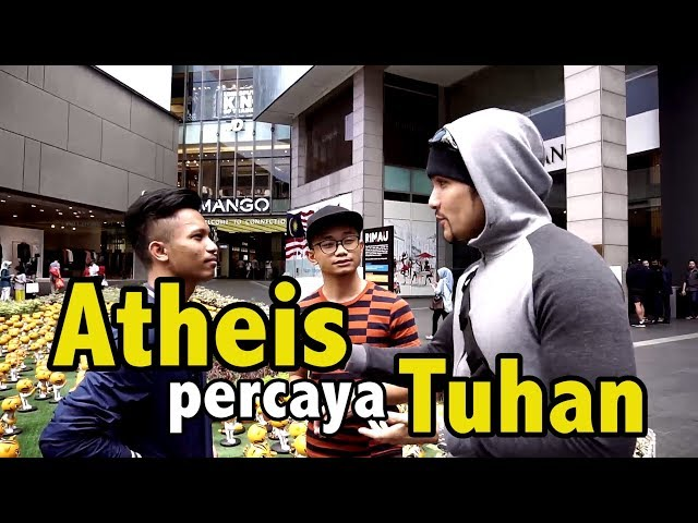 Mengubah Atheis Agar Percaya Tuhan