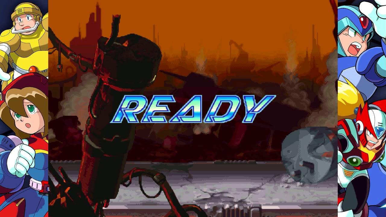 Mega Man X Legacy Colection - Mega Man X4 Undub Beta Release