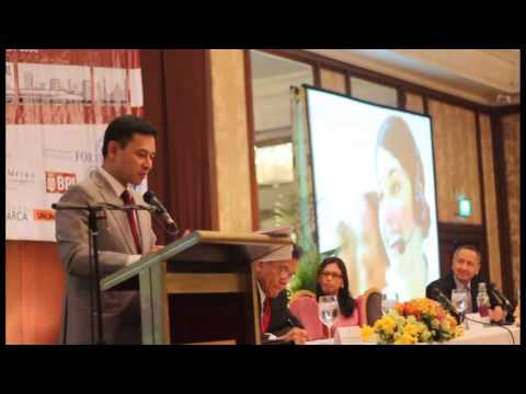Economics and a Better Philippines- Sen. Juan Edgardo Angara