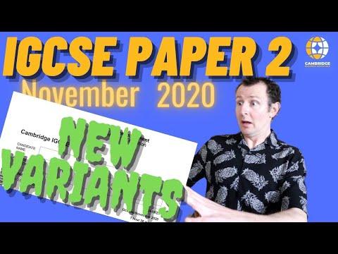 "IGCSE Business Studies Paper 2 ""A"" 8 Mark Questions - 2 New Variants Cambridge International 0450"