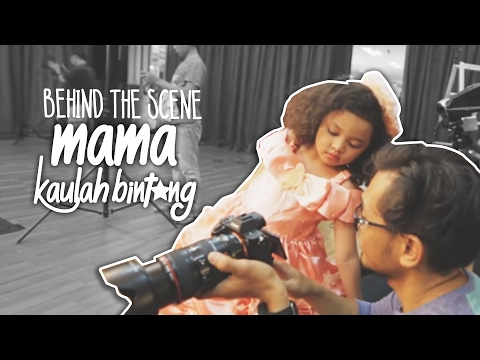 Pembuatan Music Video - Mama Kaulah Bintang - Romaria (BTS)
