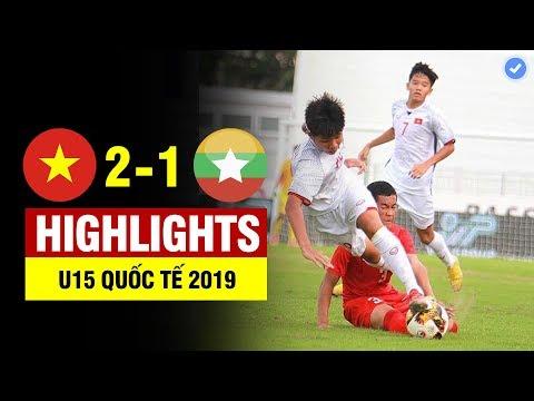 Highlights Việt Nam 2-1 Myanmar | Thần đồng BĐ Việt Làm Bàn để đời Từ đường Biên & ấn định Như CR7