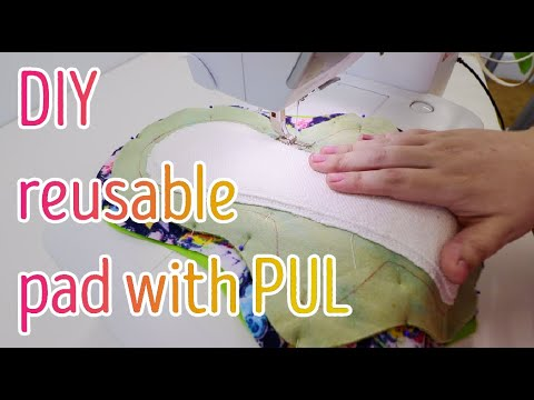 Sewing a reusable