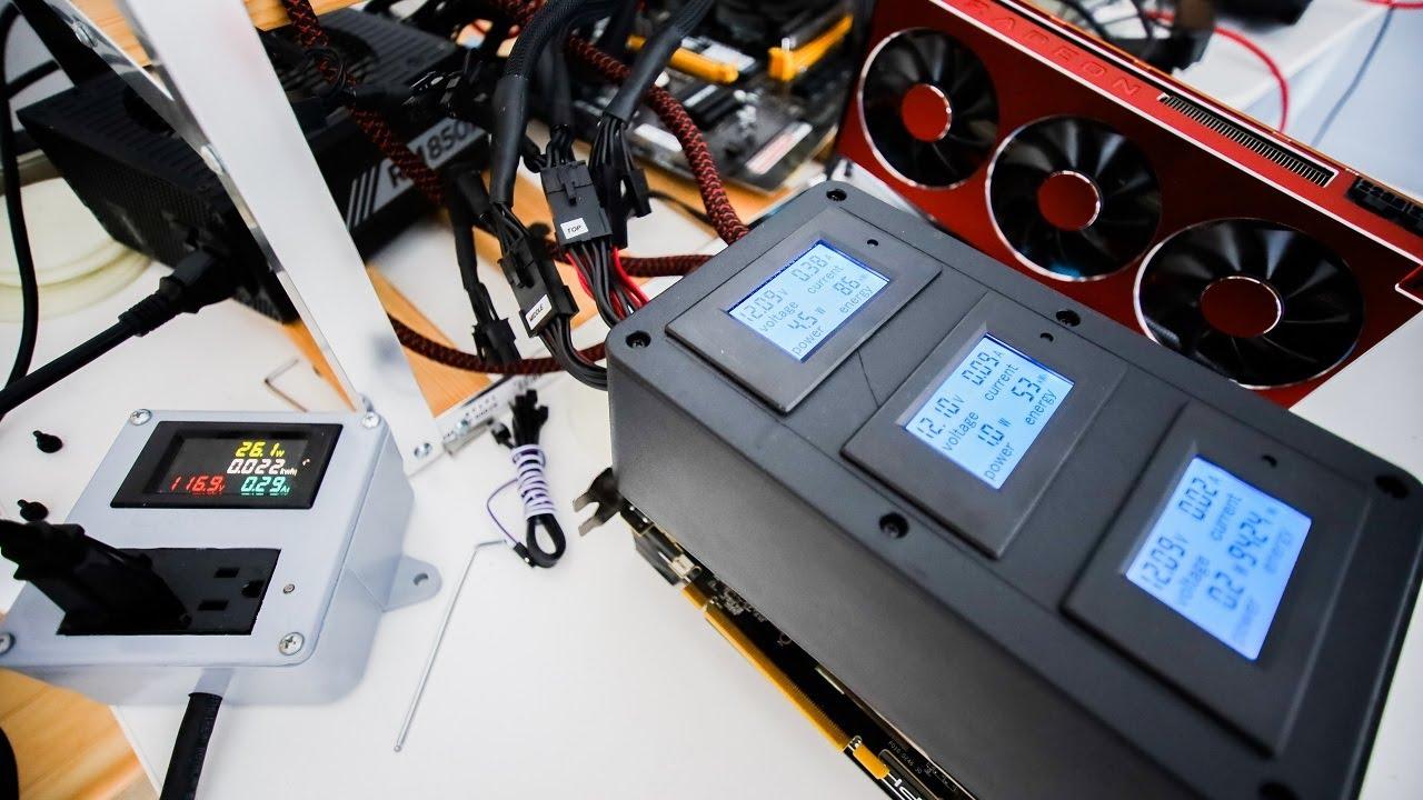 Testing A New GPU Power METER!