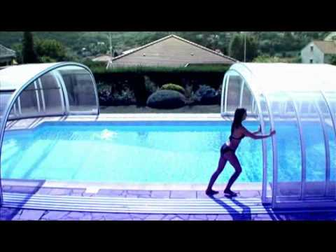 Abri piscine s same cover youtube for Abri de piscine sesame