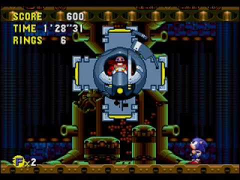Disturbing Video Game Music 19: Sonic CD Final Boss (US Version)