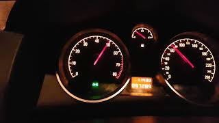 Opel Astra 1.8 H 140ps 0-100 acceleration 8,8 sec