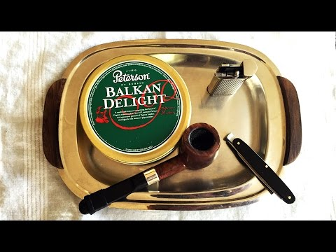 "Pipe Tobacco Review: Peterson ""Balkan Delight"""