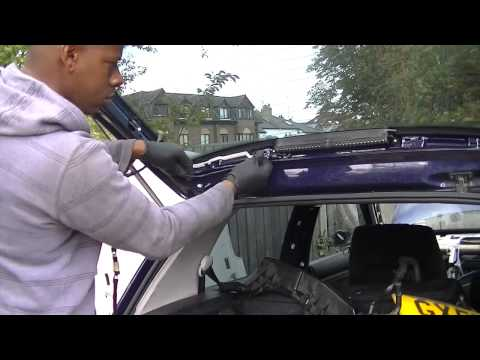 How To Remove a Tailgate Bootlid